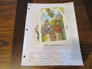 Luxembourg Souvenir Sheet Lot Mint Never Hinged- (KB7) #2