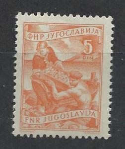 YUGOSLAVIA SC# 380 F-VF MNH 1953