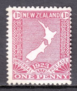 New Zealand - Scott #175 - MNG - SCV $3.50
