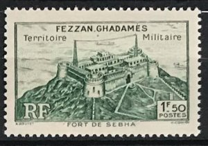 Libya Fezzan-Ghadames #1N4 MLH CV$0.55