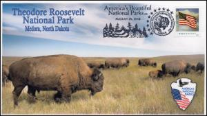 16-393, 2016, Theodore Roosevelt, National Parks Centennial, Pictorial Cancel