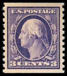 momen: US Stamps #445 MINT OG LH PSE GRADED Cert SUP-98