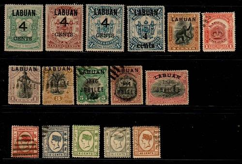 Labuan - Mixed mint and used lot (Catalog Value $151.00) [TC783]