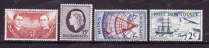 Ross Dependency-Sc#L5-8- id6-unused NH set-Ships,Maps-1967-