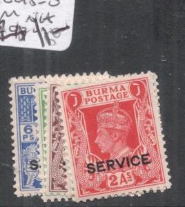 Burma SG O15-20 MNH (3dku)