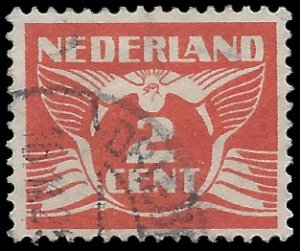 Netherlands #168 1926 Used