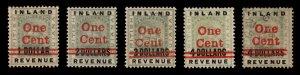 British Guiana #'s 148-151 - (4)Unused, OG and (1) Used
