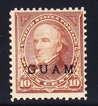 US Guam #8 Fine OG VLH