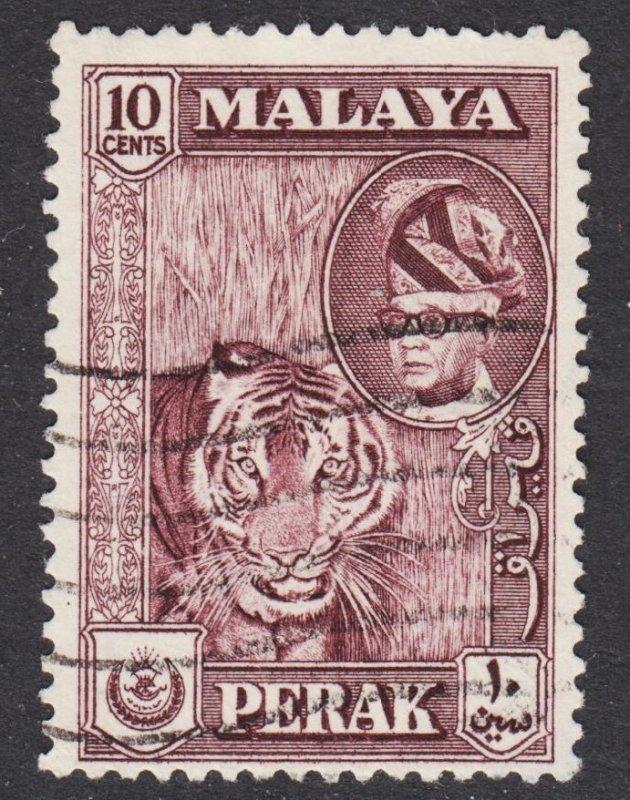 Malaya Perak Scott 132 F+ used.