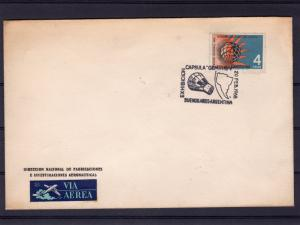 Argentina 1966 GEMINIS V Exhibition  Space Cover