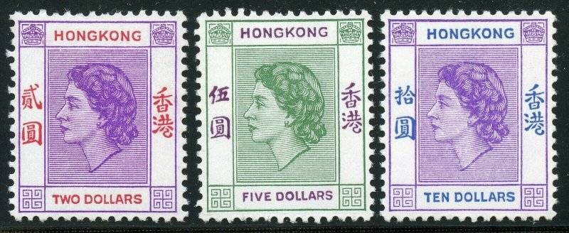 HONG KONG  SCOTT#185/98  MINT NH-SCOTT VALUE $229.85