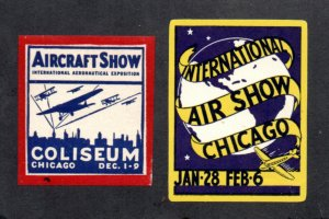 U. S. - (2) Early Chicago Air Shows    -     Lot 0820158