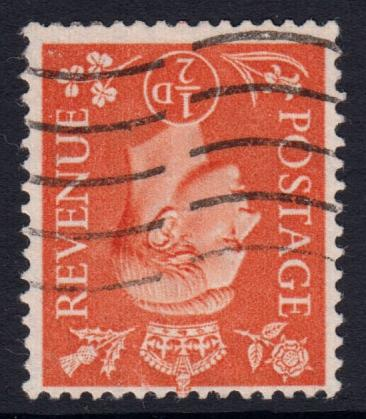 GB KGVI 1950 SET of Pale Colours Wm Inverted SG503Wi-507Wi Fine Used