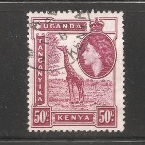 Kenya Uganda Tanganyika - Scott # 110