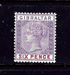 Gibraltar 19 MHR 1898 issue