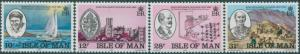 Isle of Man 1983 SG251-254 King William College set MNH