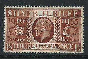 GB George V  SG 455  Used