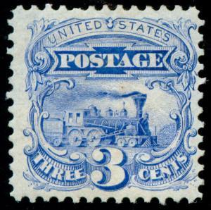 momen: US Stamps #125 Mint OG VF PF Cert