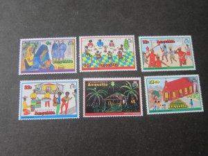Anguilla 1978 Sc 325-30 Christmas Religion set MNH