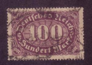 Germany, Early Inflation Sc.# 156 Used