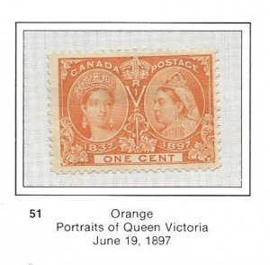 Canada 51 52 and 53 Jubilees Nice stamps see description and 3 scans
