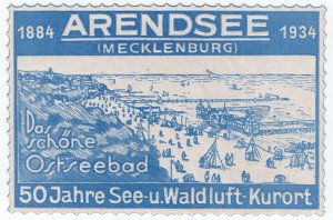 (I.B) Germany Cinderella : Arendsee (Mecklenburg) Fiftieth Anniversary