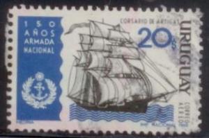 Uruguay 1968 SC# C343 Used L394