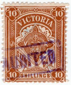 (I.B) Australia - Victoria Revenue : Stamp Duty 10/- (1909)