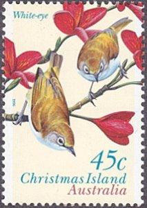 Christmas Islands # 399 mnh ~ 45¢ Birds – White-eye