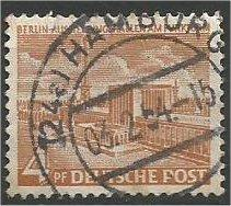 BERLIN, 1954, used 4pf Buildings Scott 9N101
