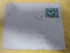 US 213 used on envelope