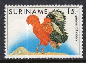 Suriname 728 Bird MNH VF