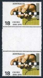 Australia 636 gutter,MNH.Mi 605. Commonwealth Scientific & Industrial Research.