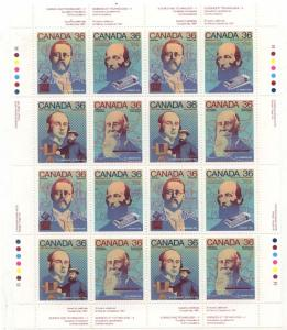 Canada - 1987 Science & Technology Sheet VF-NH #1138a