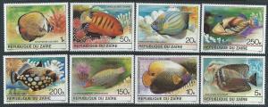 ZAIRE SC# 974-81 VF MNH 1980
