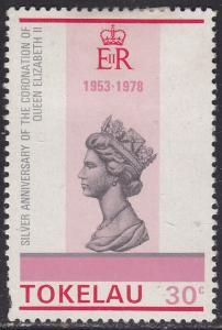 Tokelau Islands 64 Queen Elizabeth II 1978