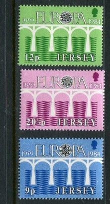 Jersey #326-8 MNH 1984 Europa