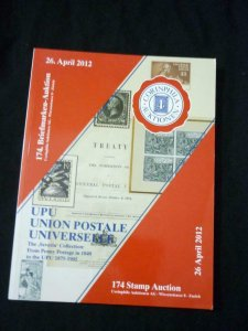 CORINPHILA AUCTION CATALOGUE 2012 UPU - THE 'SEVERIN' COLLECTION