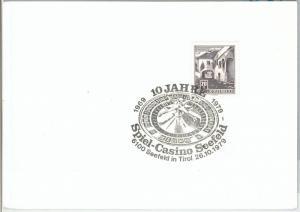 64621 - AUTRIA - POSTAL HISTORY -  POSTMARK on CARD 1977 - CASINO Gambling