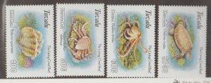Tuvalu Scott #638-641 Stamps - Mint NH Set
