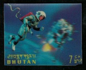 1967, Hologram, 3D Stamps, Space, LEM, 7Ch (RT-149)