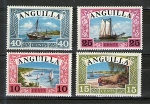 Anguilla 32-35 MNH