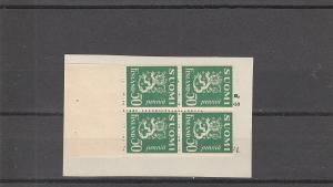 Finland  Scott#  164  MNH  Booklet Pane  (1932 Lion Type)