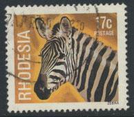 Rhodesia   SG 564 SC# 402  Used Zebra see details