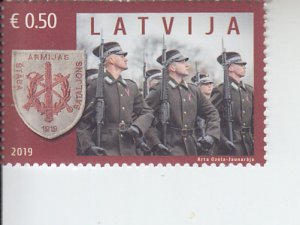 2019 Latvia Armed Forces Staff Battalion  (Scott NA) MNH