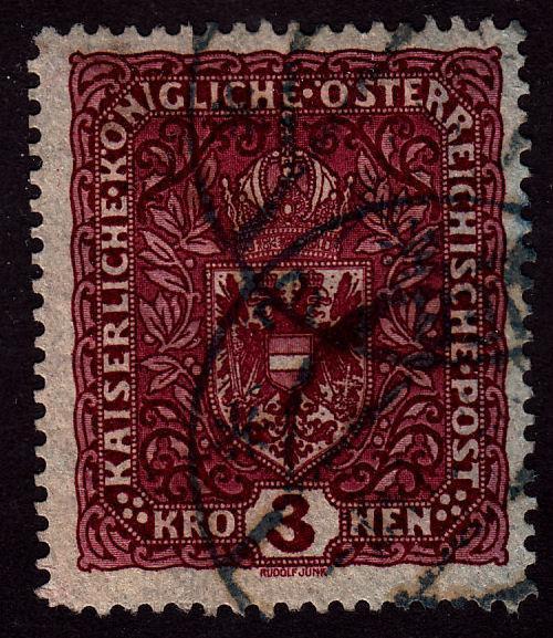 Austria 161 Coat of Arms 1916