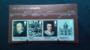 Great Britain 2010 The Age of the Stuarts Used