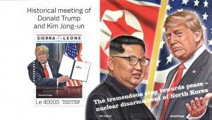 Sierra Leone Donald Trump Stamps 2018 MNH Kim Jong-un Famous People 1v S/S