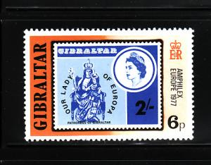 Gibraltar 356 MNH Stamps on Stamps, Stamp Expo