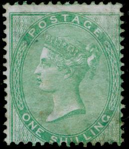 SG73, 1s pale green, M MINT. Cat £3000.